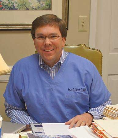 Dr. Brian West at Nashville Periodontal Group in Nashville, TN